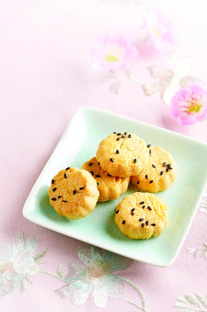 Salted Egg Cookies - 咸蛋酥
